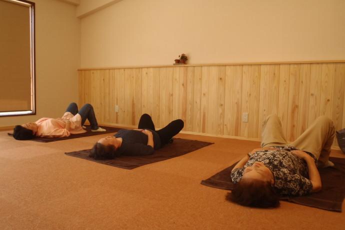 60歳からの体操(筋トレ)教室①