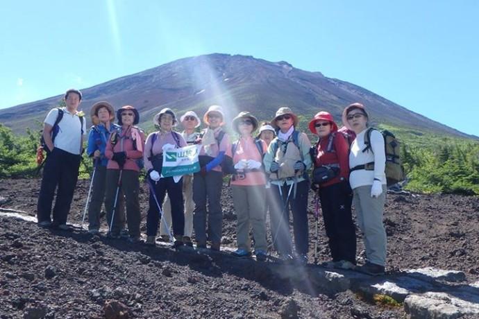 富士山に行ってきました!!