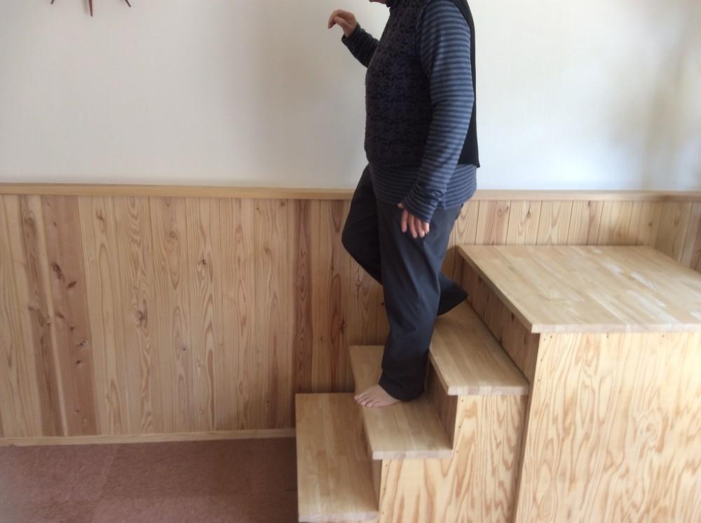 階段の上り下りは大丈夫ですか?