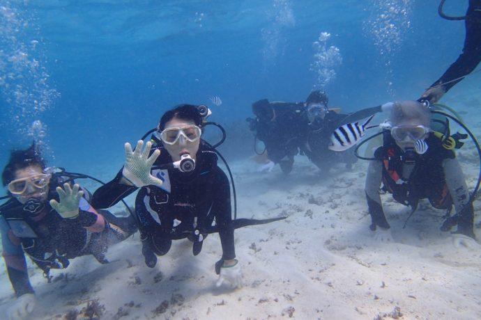 10/17(水)~10/19(金) チャレンジ!!沖縄で体験ダイビング