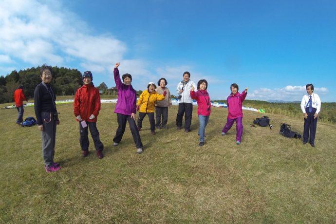 11/4(月)~6(水) チャレンジ!!初めてのパラグライダー 霧島タンデムフライト